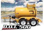 TBC - Model DOT 500 - Diesel Fuel Trailer