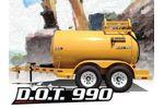 TBC - Model DOT 990 - Diesel Fuel Trailer