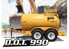 TBC - Model DOT 990 - Diesel Fuel Trailers
