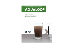 Aqualoop - Water Treatment and Greywater Recycling System Brochure