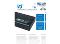 Zonar - Model V3 and V3R - Telematics Control Units - Brochure