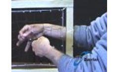 Bird Barrier: Bird Net Patch Repair - Video