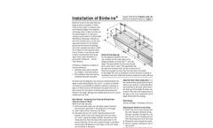 Birdwire - Spring-tensioned Wire System - Installation Instructions