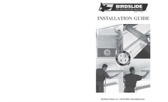 BirdSlide - Bird Control System - Installations