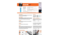 Bird-Off - Bird Repellent Gels - Catalog