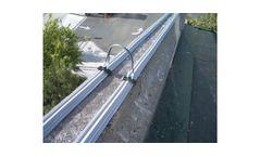 Bird-Shock Flex-Track - Low-Profile Ledge Deterrent System