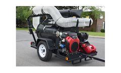 Madvac - Model LP61-G - Portable Vacuum Litter Collector System