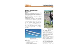 Model 615 Drive-Point Piezometer Brochure