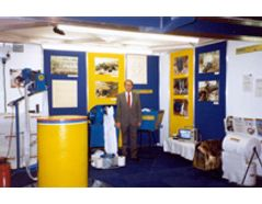 A picture of an NEC exhibition in 1992, Birmingham, England.