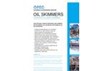 OPEC - E-Series - Industrial Oil Skimmer - Brochure