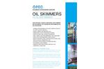 OPEC - HV - Low Capacity Oil Skimmer - Brochure