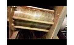 Volute Dewatering of Distillery Spent Wash Video