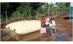 Solar pump & drink for rural communities