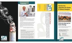 Tobacco Services Brochure