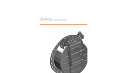 AFT-CV - DN150-DN1600 - Non Return Check Valve Brochure