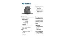 Vapex - Model 1500 - Odor Control System - Brochure