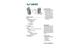 Vapex - Model Nano LV - Odor Control System - Cut sheet