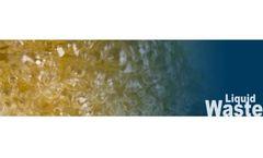 Odor control for liquid waste