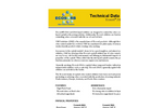 Ecosorb - Model 206A & 606A - Odor Eliminator Liquid Additives Technical Datasheet