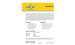 Ecosorb - Model 606 - Broad Spectrum Odor Neutralizer Technical Datasheet