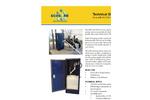 Ecosorb - Model 130 CFM - Vapor Phase Unit for Odor Neutralizers Technical Datasheet