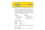 Ecosorb - Model 610 - Super Concentrated Broad Spectrum Odor Neutralizer Technical Datasheet