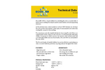 Ecosorb - Model 1200A - Liquid Additive for Odor Control Technical Datasheet