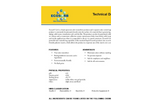 Ecosorb - Model Gel - Broad Spectrum Odor Neutralizer Technical Datasheet