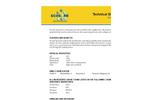 Ecosorb SprayGel - Broad Spectrum Odor Neutralizer Technical Datasheet
