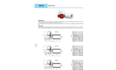 Roof Fans — WP-D Brochure
