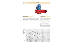 Model FAST-P - Transport Radial Fan Brochure