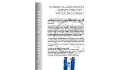 Demineralization System Brochure