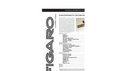 TGS5042 Battery Operable Electrochemical Sensor Brochure