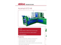 Acomat - Model 615 H4 - Fully Automatic Horizontal Channel Baling Presses System - Brochure