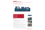 Albamat - Model 900 V5 Z1 - Fully Automatic Vertical Channel Baling Presses System - Brochure