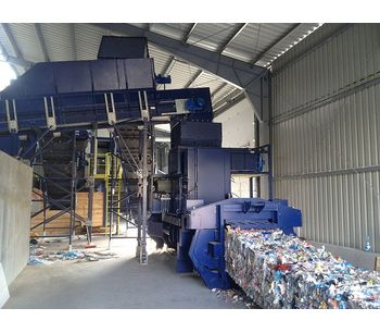 Fully Automatic Vertical Channel Baling Presses System-1