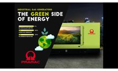 Pramac GGW Series: GAS Fuelled Generators - The Green Side of Energy - Video