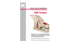 RC Series - Rap Crusher Brochure