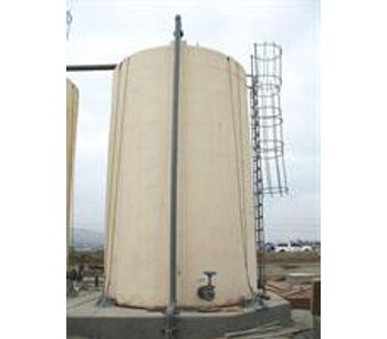 Caustic, Sulfuric Acid & Bleach Double Wall Containment Tanks for On-site Processing - Oil, Gas & Refineries - Refineries