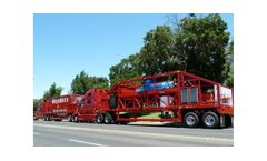MegaMACS - Cutting Edge Mobile Sludge Removal and Processing System