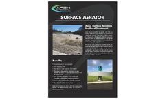 Apex - Surface Aerator Brochure