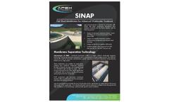 Apex - Model SINAP - MBR Flat Sheet Membranes Brochure