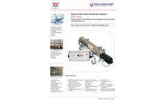 Apex - Model ADV-C Series - Ultra-Violet Disinfection Systems Brochure