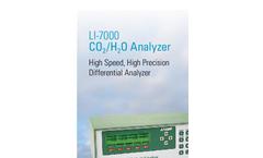 LI-840A CO2/H2O Gas Analyzer Brochure