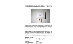 Model BP0611A Barometric Pressure Sensor Brochure (PDF 73 KB)
