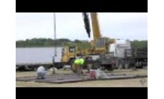 Oil Driller Secondary Containment Pad Installation - Polystar Containment Video