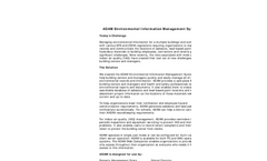 ADAM - Asbestos Inventory and Document Management Software- Brochure
