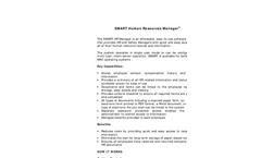 Human Resource Management Software- Brochure