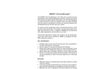 Training Management Software Brochure