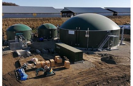 WELTEC BIOPOWER Delivers Two Biogas Plants to Japan